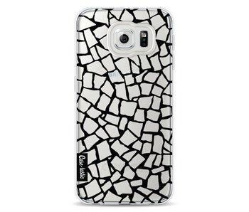 British Mosaic Black Transparent - Samsung Galaxy S6