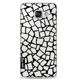 Casetastic Softcover Samsung Galaxy A3 (2016) - British Mosaic Black Transparent