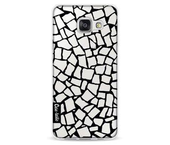 British Mosaic Black Transparent - Samsung Galaxy A3 (2016)
