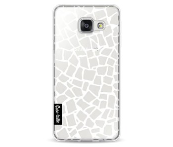British Mosaic White Transparent - Samsung Galaxy A3 (2016)