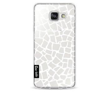 British Mosaic White Transparent - Samsung Galaxy A3 (2016)