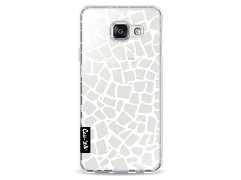 Casetastic Softcover Samsung Galaxy A3 (2016) - British Mosaic White Transparent