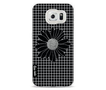 Daisy Grid Black - Samsung Galaxy S6