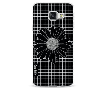 Daisy Grid Black - Samsung Galaxy A3 (2016)