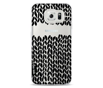 Missing Knit Black Transparent - Samsung Galaxy S6