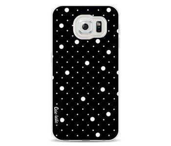 Pin Points Polka Black - Samsung Galaxy S6