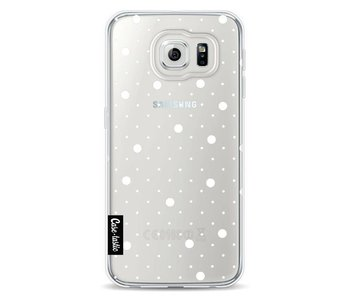 Pin Points Polka Transparent - Samsung Galaxy S6