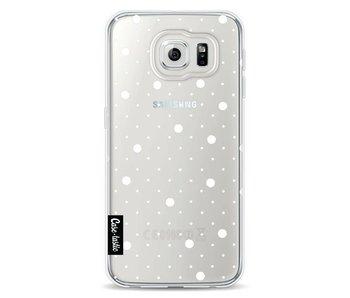 Pin Points Polka Transparent - Samsung Galaxy S6