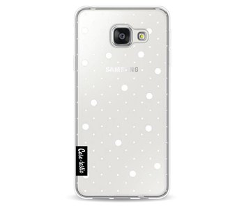 Pin Points Polka Transparent - Samsung Galaxy A3 (2016)