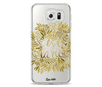 Cest La Vie Gold - Samsung Galaxy S6