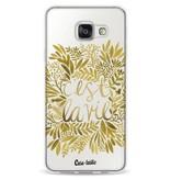 Casetastic Softcover Samsung Galaxy A3 (2016) - Cest La Vie Gold