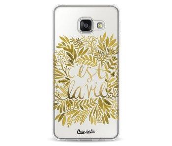 Cest La Vie Gold - Samsung Galaxy A3 (2016)