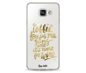 Coffee Wine Gold - Samsung Galaxy A3 (2016)
