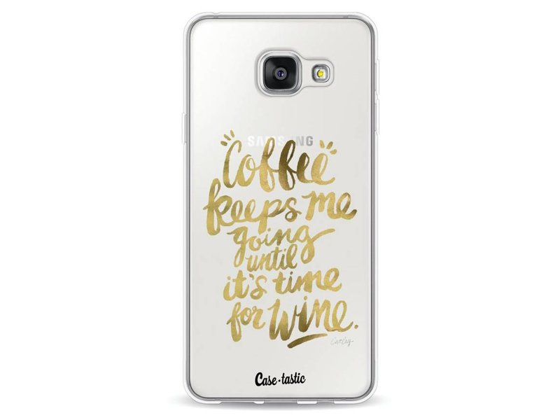 Casetastic Softcover Samsung Galaxy A3 (2016) - Coffee Wine Gold