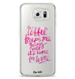 Casetastic Softcover Samsung Galaxy S6 - Coffee Wine Pink