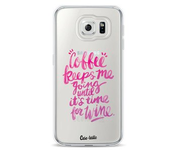 Coffee Wine Pink - Samsung Galaxy S6