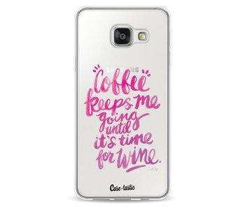 Coffee Wine Pink - Samsung Galaxy A3 (2016)