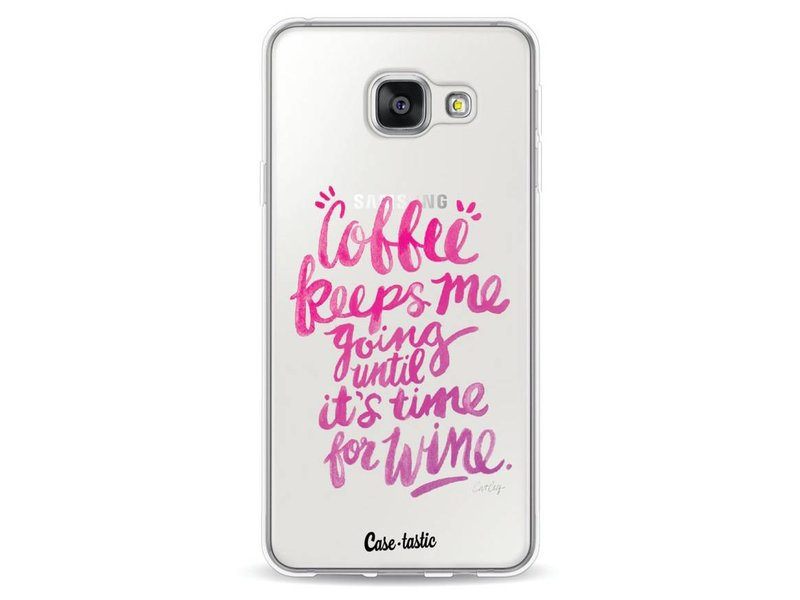 Casetastic Softcover Samsung Galaxy A3 (2016) - Coffee Wine Pink