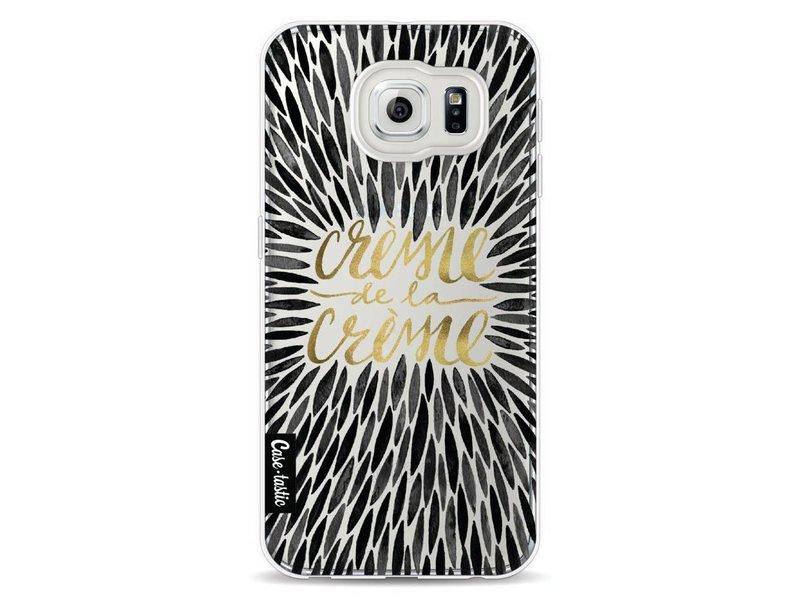 Casetastic Softcover Samsung Galaxy S6 - Creme de la Creme Black