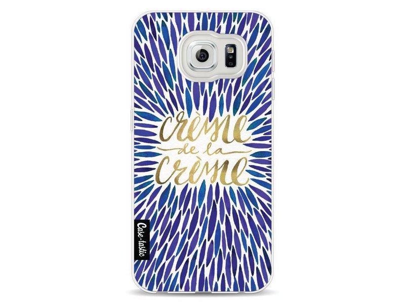 Casetastic Softcover Samsung Galaxy S6 - Creme de la Creme Navy