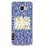 Casetastic Softcover Samsung Galaxy A3 (2016) - Creme de la Creme Navy