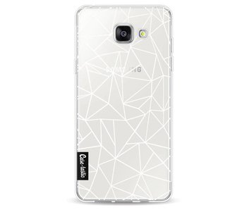 Abstraction Outline White Transparent - Samsung Galaxy A5 (2016)