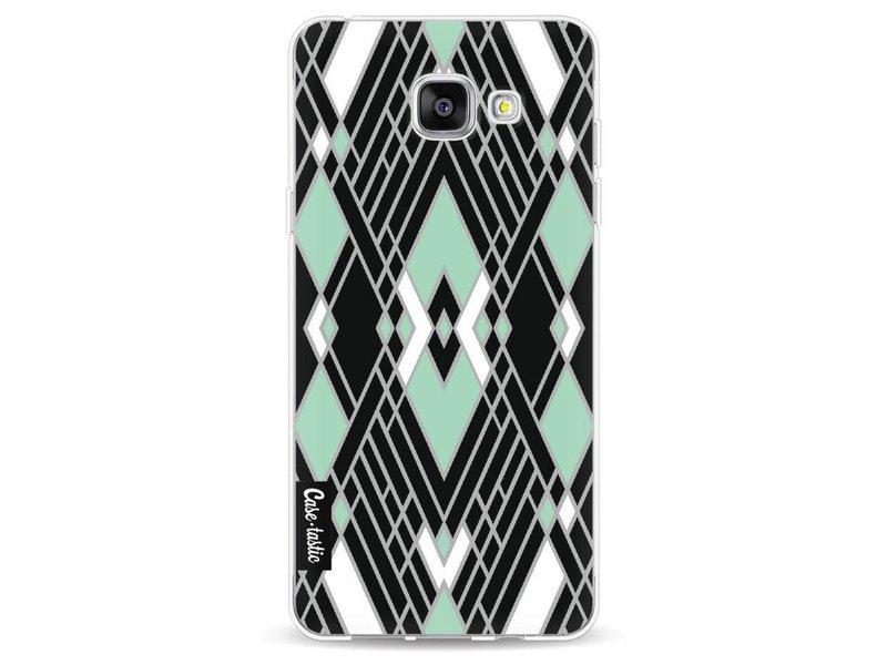 Casetastic Softcover Samsung Galaxy A5 (2016) - Art Deco Mint