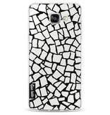 Casetastic Softcover Samsung Galaxy A5 (2016) - British Mosaic Black Transparent
