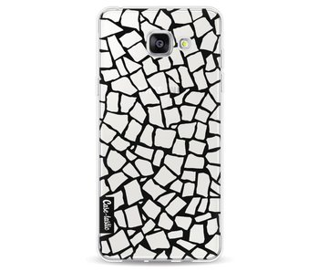 British Mosaic Black Transparent - Samsung Galaxy A5 (2016)