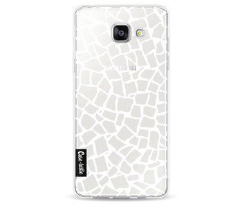 British Mosaic White Transparent - Samsung Galaxy A5 (2016)