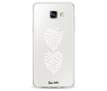 Hearts Heart 2 White Transparent - Samsung Galaxy A5 (2016)