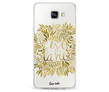 Cest La Vie Gold - Samsung Galaxy A5 (2016)