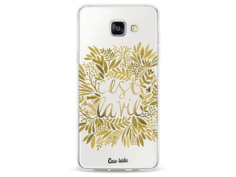 Casetastic Softcover Samsung Galaxy A5 (2016) - Cest La Vie Gold