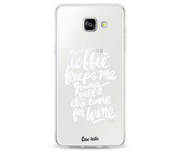 Coffee Wine White Transparent - Samsung Galaxy A5 (2016)