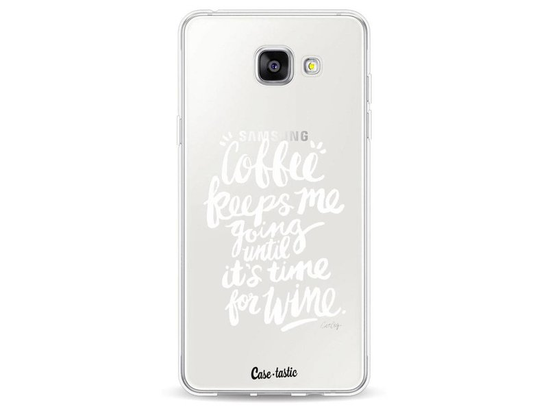 Casetastic Softcover Samsung Galaxy A5 (2016) - Coffee Wine White Transparent