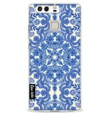 Casetastic Softcover Huawei P9 - Blue White Folk Art