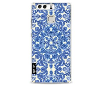 Blue White Folk Art - Huawei P9
