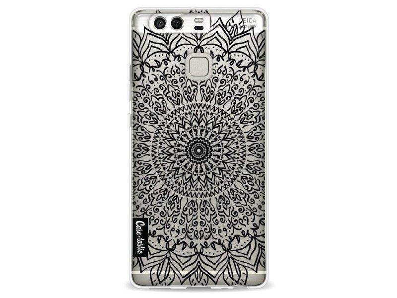 Casetastic Softcover Huawei P9 - Black Mandala
