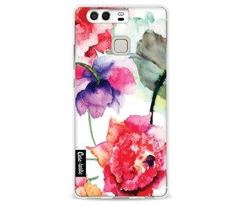 Watercolor Flowers - Huawei P9