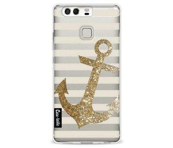 Glitter Anchor Gold - Huawei P9