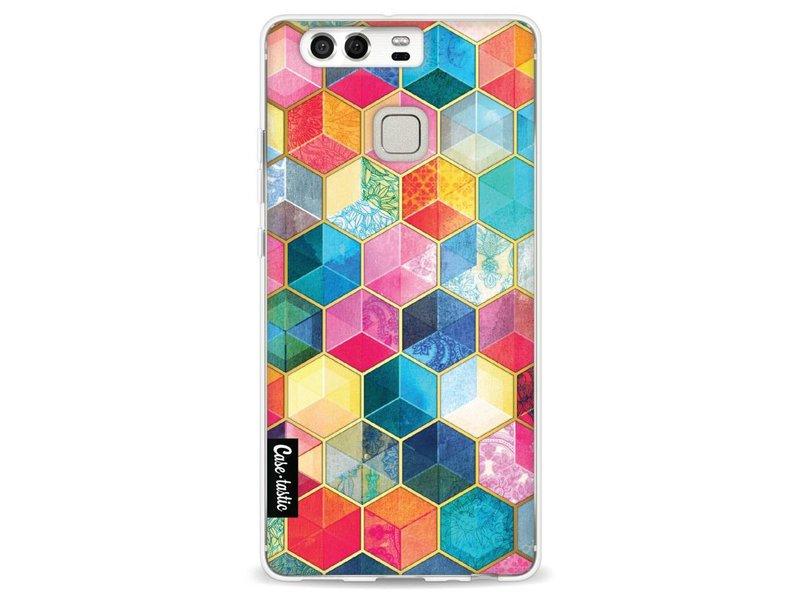 Casetastic Softcover Huawei P9 - Bohemian Honeycomb