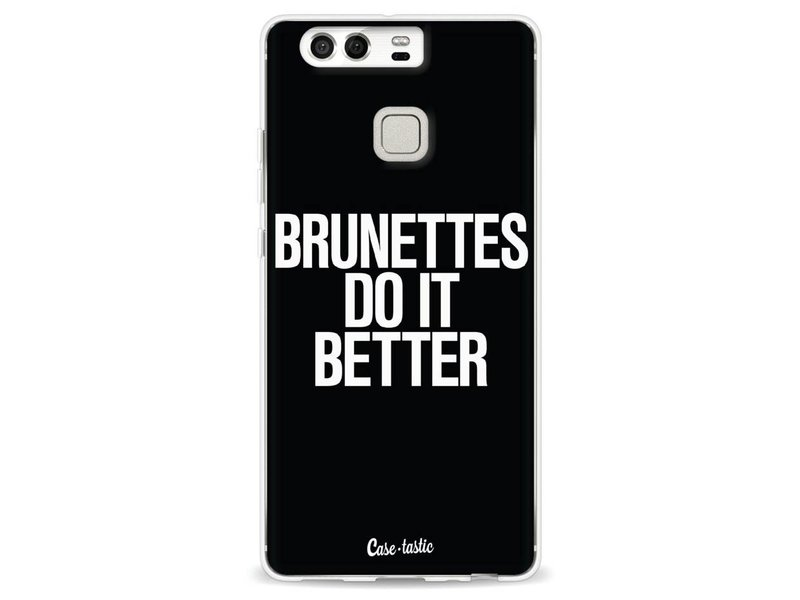 Casetastic Softcover Huawei P9 - Brunettes Do It Better
