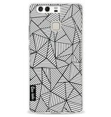 Casetastic Softcover Huawei P9 - Abstraction Lines