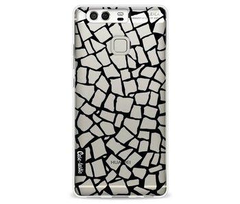 British Mosaic Black Transparent - Huawei P9