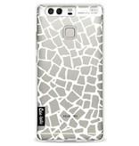 Casetastic Softcover Huawei P9 - British Mosaic White Transparent