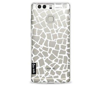 British Mosaic White Transparent - Huawei P9