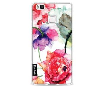Watercolor Flowers - Huawei P9 Lite