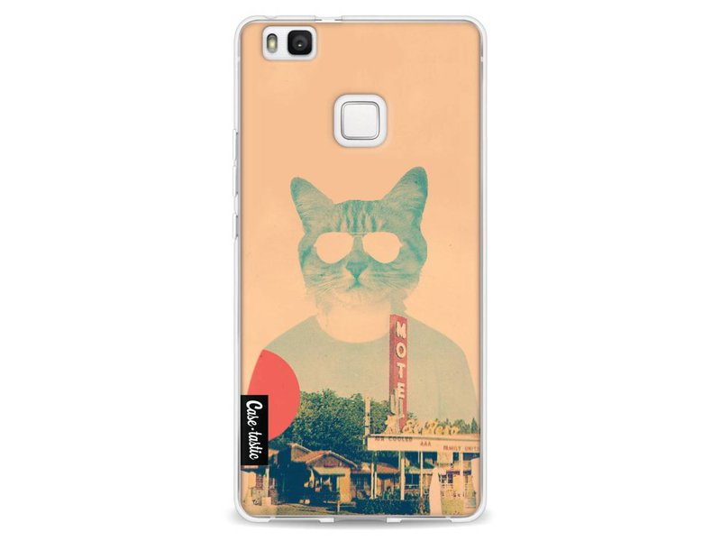 Casetastic Softcover Huawei P9 Lite - Cool Cat