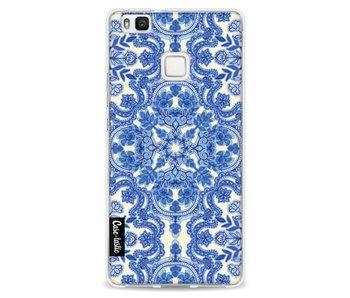 Blue White Folk Art - Huawei P9 Lite