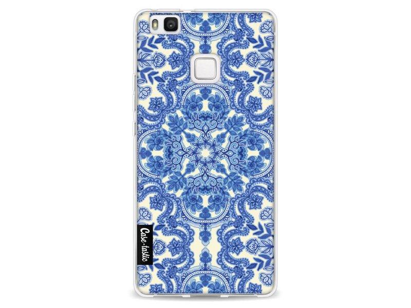 Casetastic Softcover Huawei P9 Lite - Blue White Folk Art